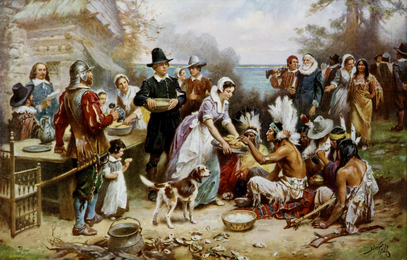 history-of-the-first-thanksgiving